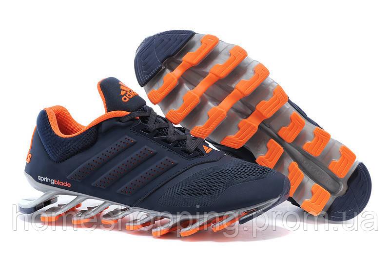 Кроссовки  мужские Adidas Springblade Drive 2.0 Men (сине-оранжевый)
