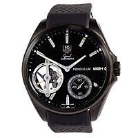 Мужские механические часы TAG Heuer - Pendulum цвет корпуса серебристый, паракордовый ремешок