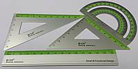 Набір лінійок алюмінієвий 4 предмета 6129