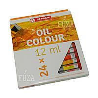 Набор масляных красок Art Creation, 24 цв. по 12 мл