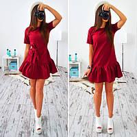 Платье женское 33010 Платье с заниженной талией