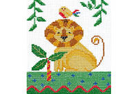 """Набор для вышивки крестом """"Африка. Лев"""""""