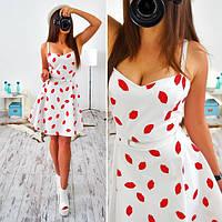 Платье женское 33011 Платье с заниженной талией