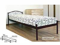 Кровать односпальная металлическая Элис