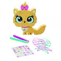 Littlest Pet Игровой набор Укрась котенка Shop Style N Store Cat Pet Deco Bit Set