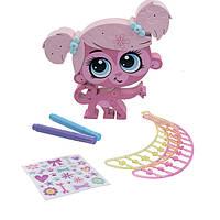 Littlest Pet Игровой набор Укрась обезьянку Shop Store 'n Style Minka Mark Pet