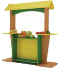 """Стенка игровая 19 """"Магазин"""". Мебель для школы. Мебель для детского сада"""