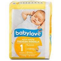 Памперсы DenkMit babylove newborn №1 от 2-5кг (28шт)