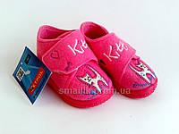 Теплые тапочки-ботиночки для девочек Zetpol Моника 18р.