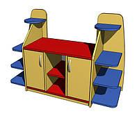 Стенка игровая 22. Мебель для школы. Мебель для детского сада