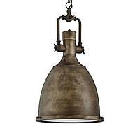 Светильник потолочный купол Loft [ Industrial Pendants ](black gold)