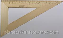 Треугольник деревянный 22 см (60*30*90)