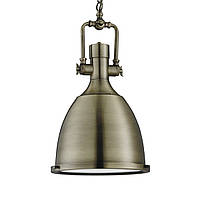 Светильник потолочный купол Loft [ Industrial Pendants ] (antique brass)