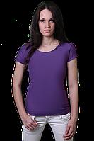 Футболка хлопковая - 5D фиолетовая