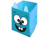 """Ящик для игрушек """"Заяц"""" HTKB-2525-004 Украинская Оселя, 25*25*38"""