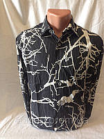 Рубашка мужская LORENTI длинный рукав дерево 002 купить рубашку