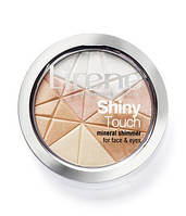 E06993 Lirene Минеральная пудра Shiny Touch для лица и глаз (Сияние) 9 г 9 г