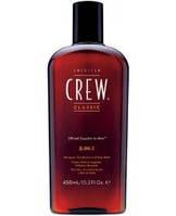 American Crew 3-в-1 Средство по уходу за волосами и телом / 3-in-1 Shampoo, conditioner and body wash, 450 мл