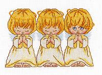 """Набор для вышивки крестом """"Хор ангелов"""""""
