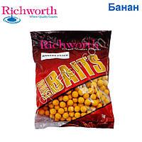 Бойлы Richworth euro boilies 'BANANA ESTER'-банан 18mm, 1kg *