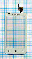 Тачскрин сенсорное стекло для Lenovo A356 white