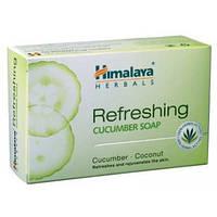 Освежающее огуречное мыло 75 грм. для жирной кожи, Himalaya Herbals Refreshing Cucumber Soaps, Аюрведа Здесь