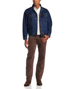 Wrangler Rugged Wear Mens Unlined Denim Jacket