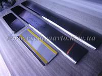 Защита порогов - накладки на пороги Honda ACCORD IX с 2013 (Standart)