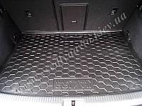 Коврик в багажник Volkswagen Golf 7 хетчбэк с 2013 г. (AVTO-GUMM) пластик+резина