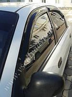 Дефлекторы окон на Daewoo Lanos/Sens/Chevrolet Lanos с 1997 г. (HIC)