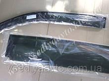 Дефлекторы окон на Mercedes C-Class седан 2000-2007 (W203) гг. (HIC)