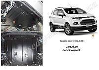 Защита двигателя на Ford Ecosport EcoBoost с 2013 г.