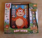 Интерактивный 3D планшет игрушка  Кот Кеся  по цене 170 грн.
