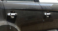Накладки на автомобиль для ручек KIA Soul 2008+ (сталь, 4 шт)