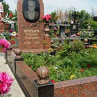 Комплексный мемориальный памятник из гранита
