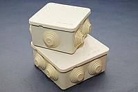 Коробка распределительна з кришкою 100х100х50 мм для труб