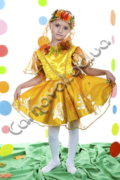 Карнавальный костюм Осенний Листик для девочки , цена 450 ... - photo#36