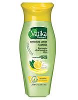 Шампунь освежающий с лимоном против перхоти DABUR VATIKA, 200 мл