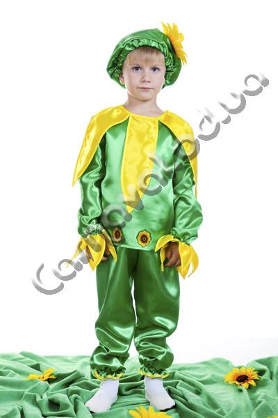 Карнавальный костюм Подсолнух для мальчика, цена 300 грн ... - photo#11