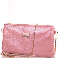 Женская кожаная сумка-клатч EUROPE MOB (ЮЭРОП МОБ) EM0014-13 Розовая