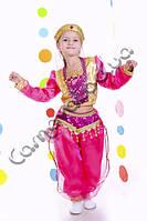 Карнавальный костюм Восточная Красавица в малиновом цвете