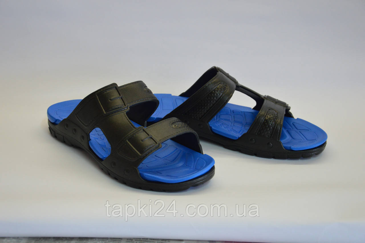 Мужские шлепанцы синие оптом Дрим Стан П - 21, фото 1