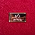 Женская сумка-клатч из экокожи EUROPE MOB (ЮЭРОП МОБ) EM2-0010-1 Красно-черная, фото 6