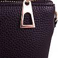 Женская сумка-клатч из экокожи EUROPE MOB (ЮЭРОП МОБ) EM2-0010-1 Красно-черная, фото 7