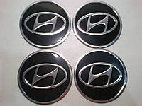 Наклейка на колпак диска Hyundai 90 мм