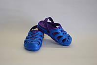 Сланцы детские кроксы оптом  (сине-фиолетовый), фото 1