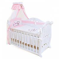 Детское постельное Twins Evolution А-017 Лето, розовый(7 элементов)