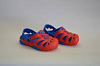 Сланцы детские кроксы оптом  (красно - синие), фото 1