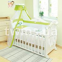 Детское постельное Twins Evolution А-018 Лето, зеленого цвета(7 элементов)