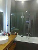 Стеклянные шторки для ванной, ограждение душа из прочного каленого стекла